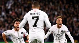 Bernat ensalzó la figura de Mbappé. AFP
