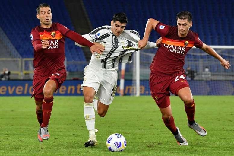 Spinazzola superou sua saída da Juventus. AFP