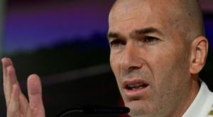 Zidane plus que jamais en danger. AFP