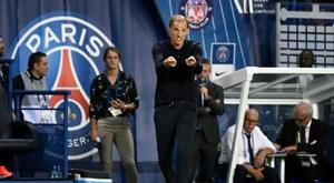 Tuchel a apprécié la réaction de son équipe. AFP