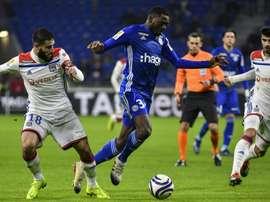 Les compos probables du match de Ligue 1 entre Lyon et Reims. AFP