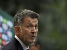 Osorio n'est plus sélectionneur du Mexique. AFP