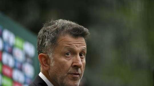 Osorio, nuevo técnico de Atlético Nacional. AFP