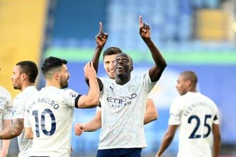 VIDEO : Le meilleur de Benjamin Mendy à Manchester City. AFP