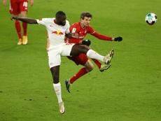 Le Bayern intéressé par Upamecano, confirme Rummenigge. afp