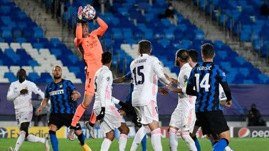 Le probabili formazioni di Inter-Real Madrid. AFP