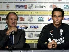 Ganso joue désormais à Amiens. AFP