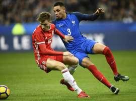 Brooks (i), pendiente de su futuro en el Sheffield United. AFP