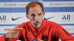 Tuchel falou sobre a situação da relação entre Neymar e a torcida. AFP