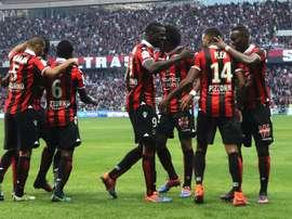 El Niza sumó su novena victoria en once encuentros en la Ligue 1 con un 4-1 ante el Nantes. EFE