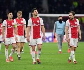 'Manita' e inesperado 'hat trick' del Ajax para empezar. AFP