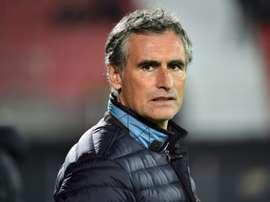 Dijon s'est séparé de son entraîneur. AFP