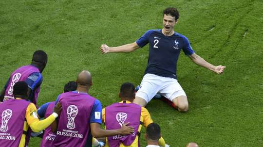 Pavard jugará en el Bayern. AFP