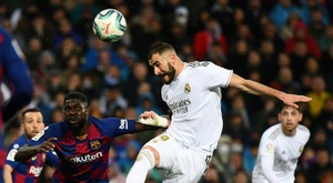 Delgado a joué pendant une saison avec Karim Benzema. AFP