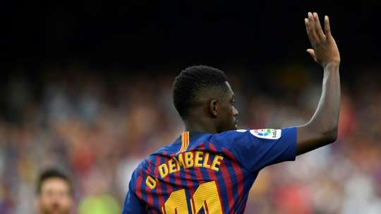 Barcelona paid Borussia Dortmund £96million for Dembele. AFP