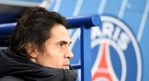 PSG e Atletico non hanno ancora trovato un accordo per Cavani. AFP