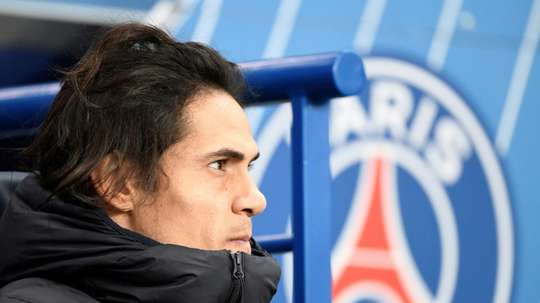 PSG will not be renewing Edinson Cavani's contract. AFP