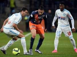El Olympique de Marsella volvió a ganar a domicilio. AFP