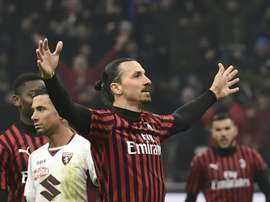 In Italy they think that Ibrahimovic will continue. AFP