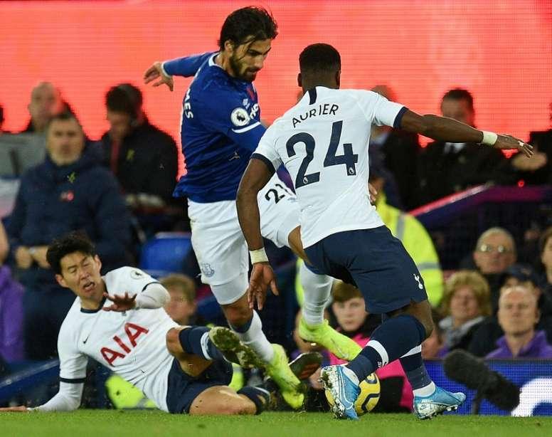 Tottenham n'y arrive toujours pas à Everton. AFP
