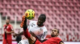 Lorient-Dijon prévu dimanche reporté en raison de cas de Covid-19. AFP
