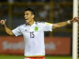 Hector Moreno est revenu sur ses débuts dans le sport roi. AFP