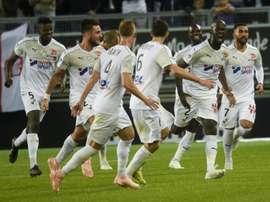 Les compos probables du match de Ligue 1 entre Dijon et Amiens. AFP