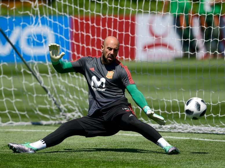 Pepe Reina has the highest clean sheet percentage in Premier League history. AFP