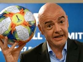 La FIFA prévient la fédération océanienne. AFP