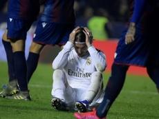 Le Real s'embourbe à Levante, quatre jours avant City. AFP