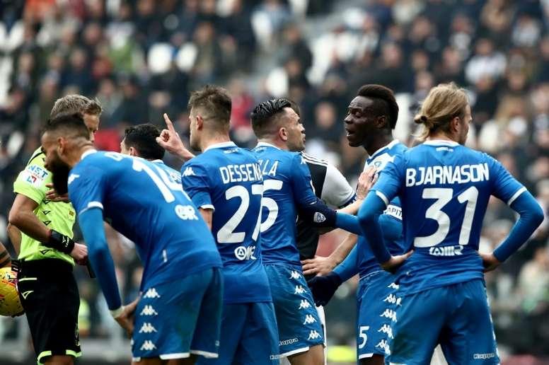 Le président de Brescia assure que la Serie A est terminée. AFP