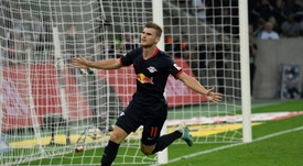 Liverpool want to beat Chelsea to Timo Werner. AFP