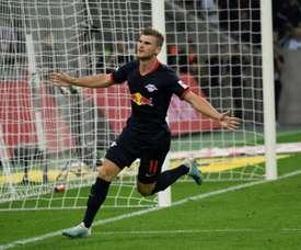 Werner n'a pas été au Bayern. AFP