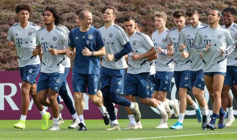 Le Bayern Munich veut retourner à l'entraînement lundi. AFP