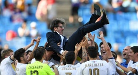 L'Italie est troisième du mondial U20. AFP