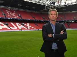 Il direttore generale dell'Ajax Edwin van der Sar, ex Juve. AFP