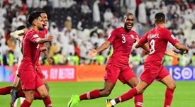 Le Qatar se rue en finale. AFP