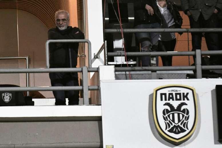 Sanction confirmée pour les clubs grecs PAOK et Xanthi.  AFP