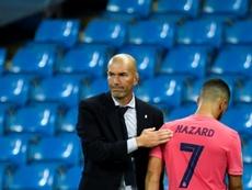 La fin de la magie Zidane en Ligue des champions ? AFP