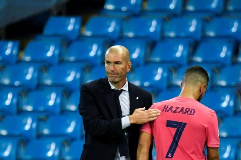 La prioridad del Madrid es iniciar la 'Operación Salida'. AFP