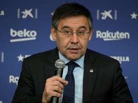 Six démissions chez les dirigeants du FC Barcelone. AFP
