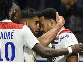 Lyon assegurou lugar na Champions.EFE