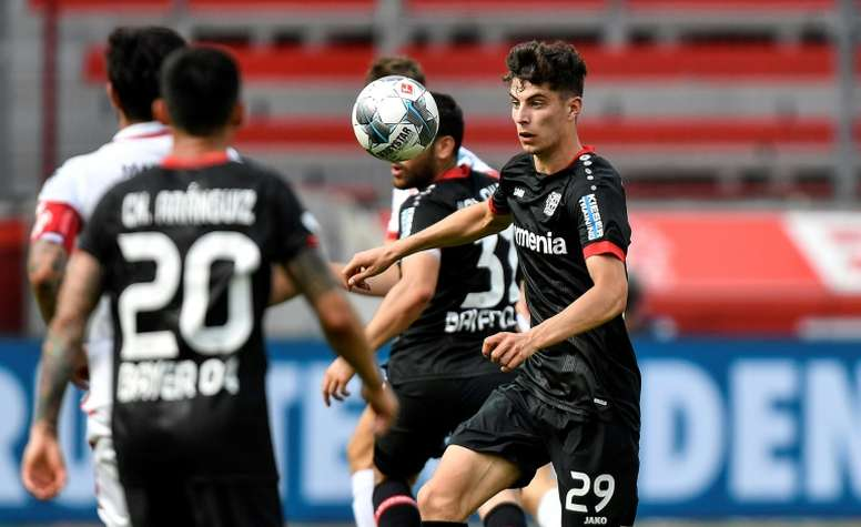 Rummenigge has ruled out the arrival of Havertz. AFP