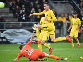El alemán todavía no ha sido titular esta temporada. AFP