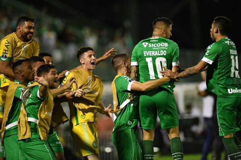 Chapecoense vuelve al Brasileirao. AFP
