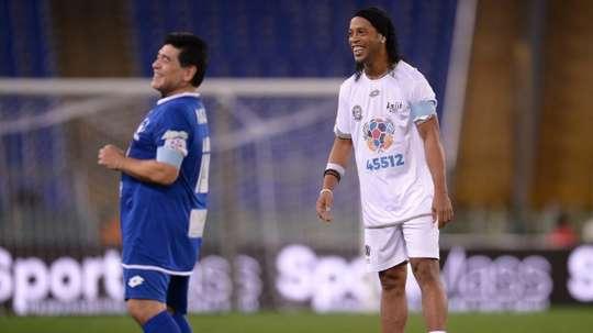 Dos de la mayores leyendas que han pertenecido a la Liga Mexicana. AFP