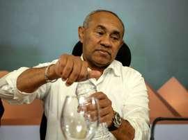 Ahmad Ahmad préfère des tribunes vides à l'insécurité. AFP
