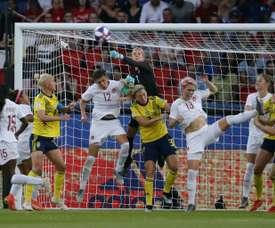 8e de finale Suède-Canada, lundi 24 juin. AFP