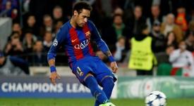 Le TAS a débouté le Santos, qui réclamait plus de 61 millions d'euros au Barça. afp