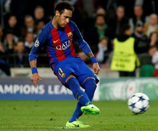 Le Barça prépare la campagne médiatique du transfert de Neymar. AFP
